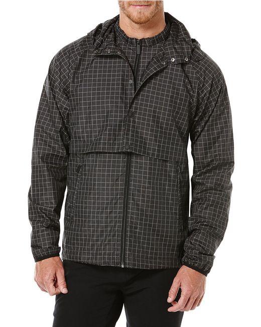Perry Ellis | Black Reflective Convertible Anorak Jacket for Men | Lyst