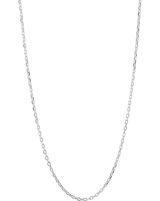 Links of London | Metallic Silver Diamond-cut Cable Chain | Lyst