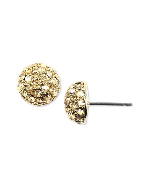 Givenchy | Metallic Cushion-cut Drop Earrings | Lyst