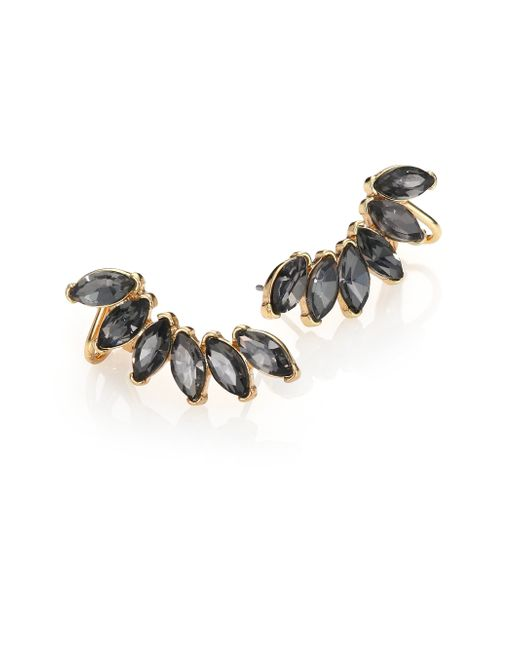 ABS By Allen Schwartz | Gray Some Like It Hot Faceted Ear Climber | Lyst