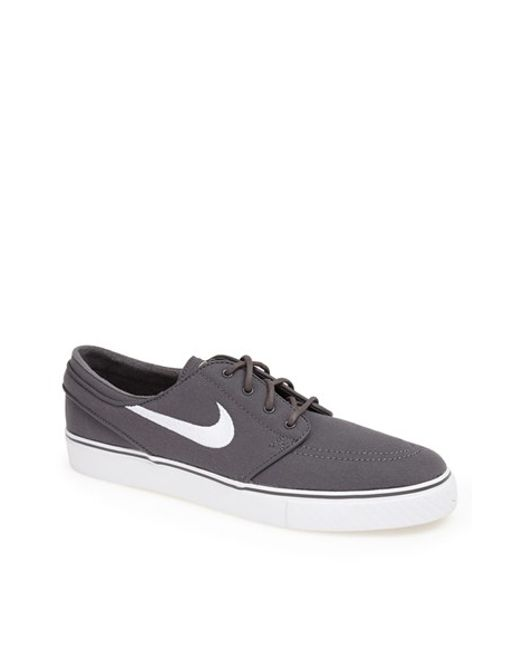 Nike | Gray 'zoom - Stefan Janoski Sb' Canvas Skate Shoe for Men | Lyst