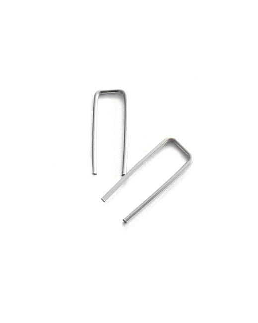 Forever 21   Metallic Amarilo Staple Post Earrings   Lyst