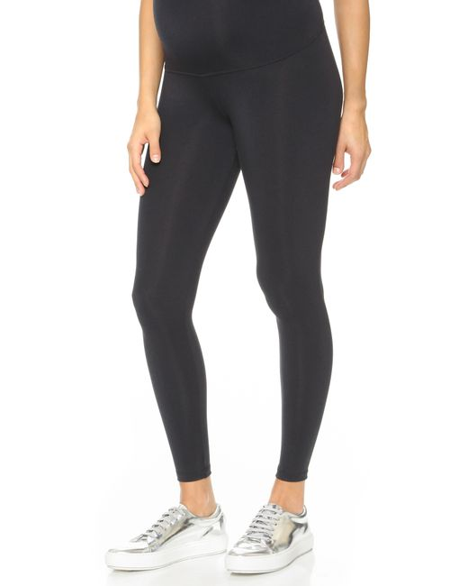 David Lerner | Black Maternity Leggings | Lyst