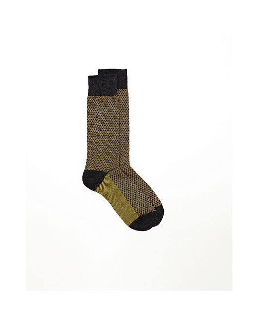 Vince Camuto | Multicolor Moss-stitched Contrast Crew Socks | Lyst