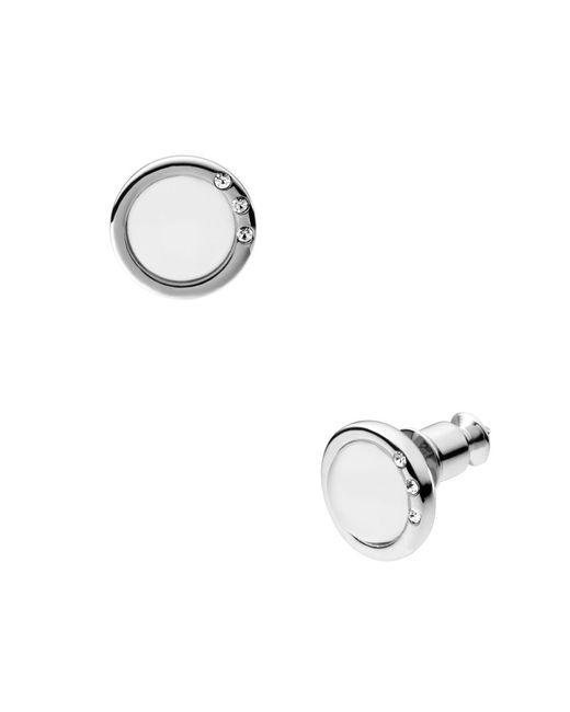 Skagen | White Skj0103040 Lacies Earrings | Lyst