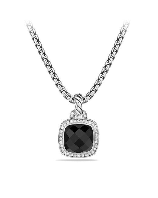 David Yurman | Pendant With Black Onyx And Diamonds | Lyst