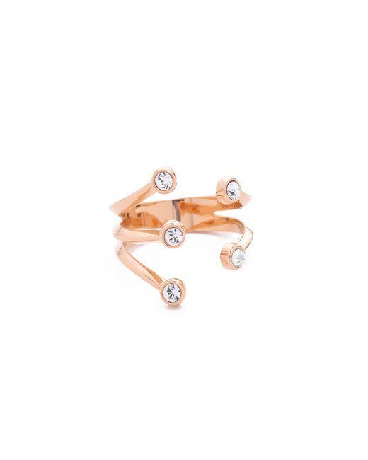 Vita Fede | Metallic Lyra Ring | Lyst