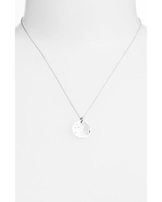Ija | Metallic 'small Zodiac' Sterling Silver Necklace | Lyst