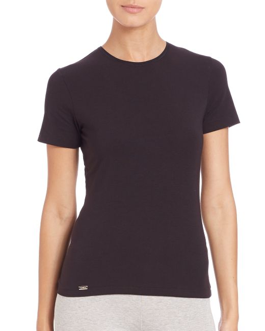 La Perla | Black New Project Short-sleeve Tee | Lyst