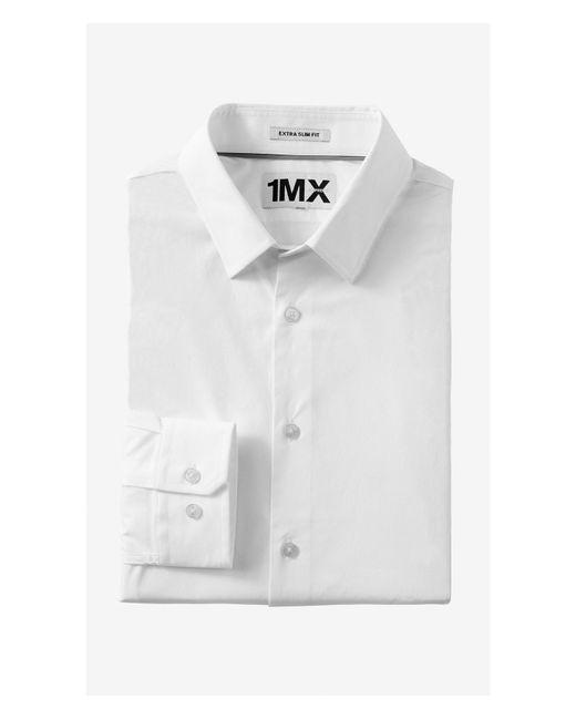 Express | White Slim Fit 1mx Shirt for Men | Lyst
