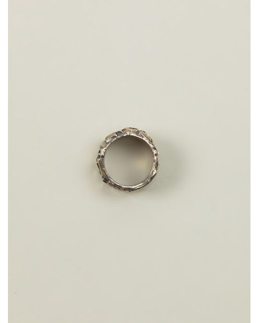 Tobias Wistisen | Metallic 'chaotic' Ring for Men | Lyst