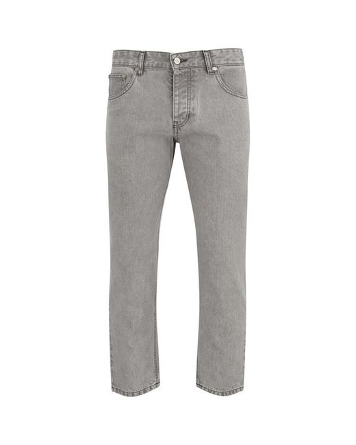 Ami Men39;s Carrot Fit 5 Pockets Jeans in Gray for Men Grey  Save 60%