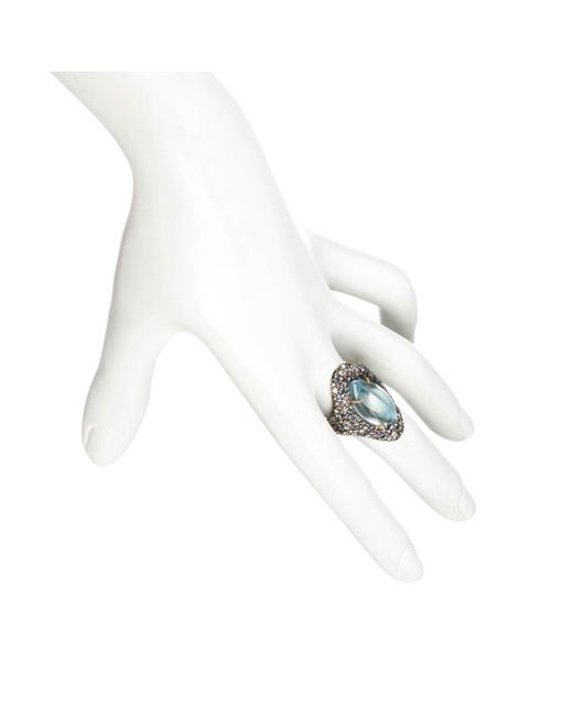 Alexis Bittar | Blue Cool Heather Marquis Drama Ring You Might Also Like | Lyst