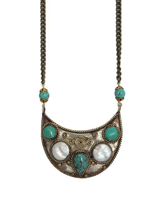 Natalie B. Jewelry   Multicolor Tulum Necklace   Lyst