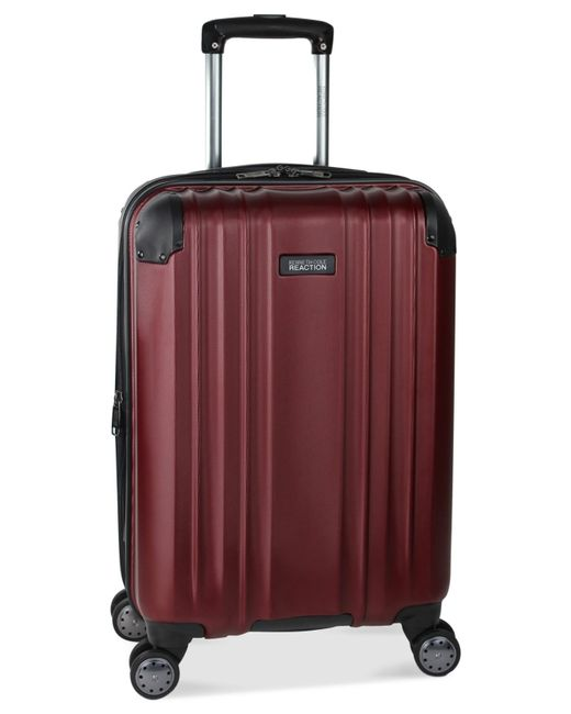 "Kenneth Cole Reaction | Red Closeout! 65% Off Carrara 20"" Carry On Hardside Spinner Suitcase, Only At Macy's for Men 