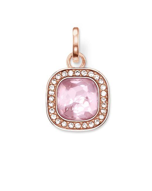 Thomas Sabo | Secret Of Cosmo Pink Corundum Pendant | Lyst