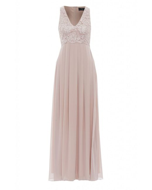 AX Paris | Natural Lace Top Maxi Dress | Lyst