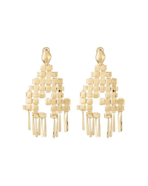 Aurelie Bidermann | Metallic Aurélie Bidermann Iroquois 18kt Gold Plated Earrings | Lyst