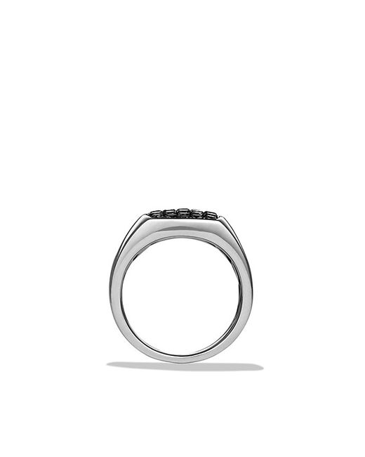David Yurman | Pavé Pinky Ring With Black Diamonds for Men | Lyst