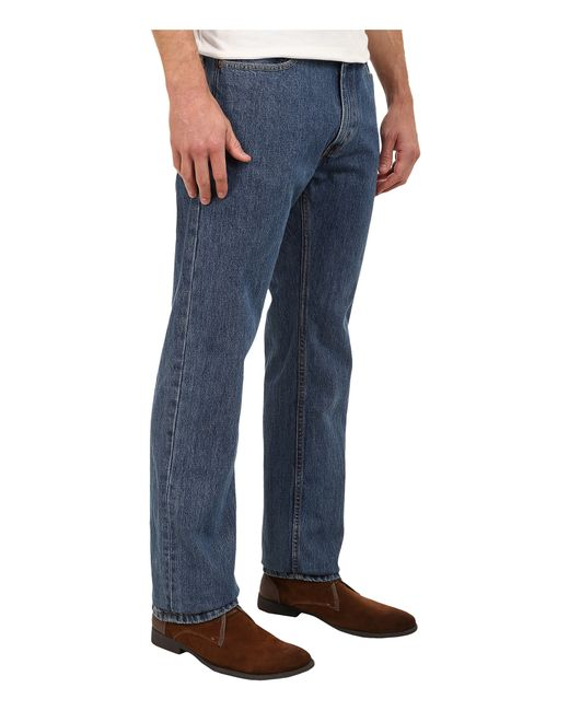 Levi's | Blue Men's 513 Slim Straight Fit Jeans for Men | Lyst