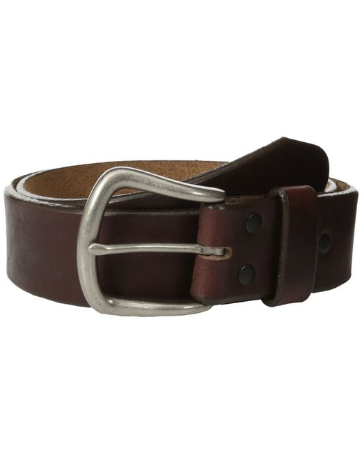 "Brighton | Brown Sanford 1 1/2"" Belt for Men 