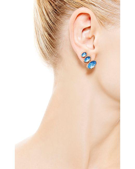 Larkspur & Hawk | Tessa Climbing Earrings in Blue | Lyst