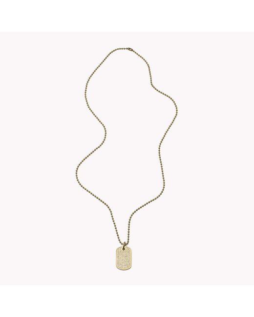 Tommy Hilfiger | Multicolor Pendant Necklace | Lyst