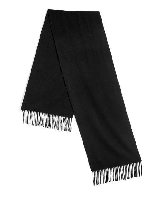 Saks Fifth Avenue   Black Cashmere Scarf for Men   Lyst