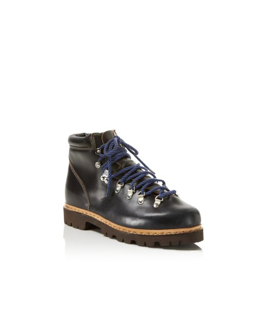 Paraboot Avoriaz Hiker Boots In Blue For Men Marine Lyst