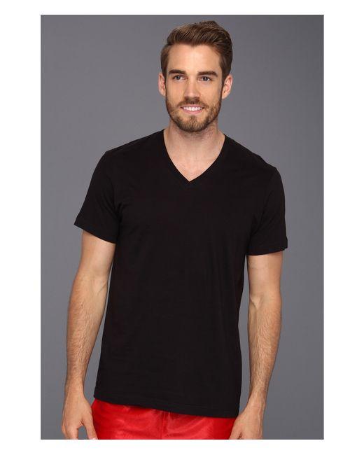 2xist   Black 3-pack Essential Jersey V-neck T-shirt for Men   Lyst