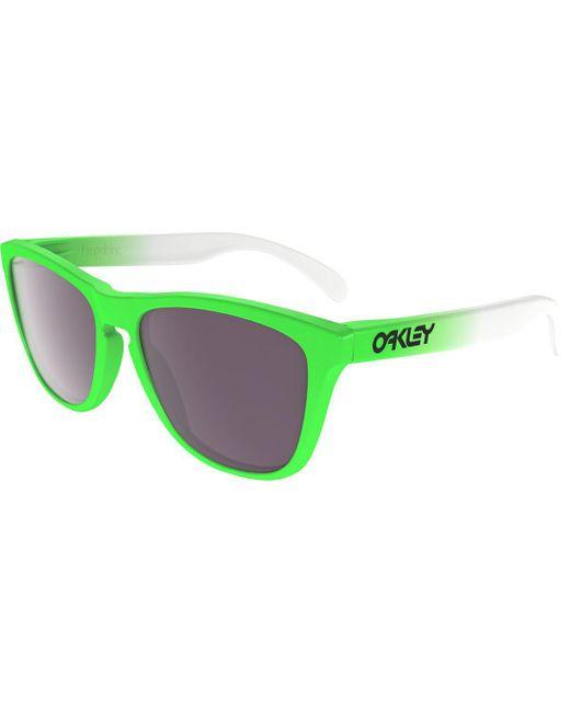 bd17fec43a2 Lyst - Oakley Frogskins Prizm Sunglasses in Green for Men
