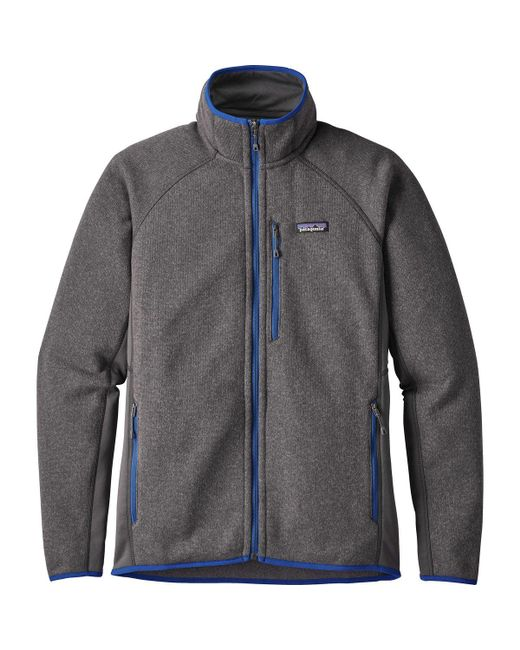 Patagonia | Gray Performance Better Sweater Fleece Jacket for Men | Lyst