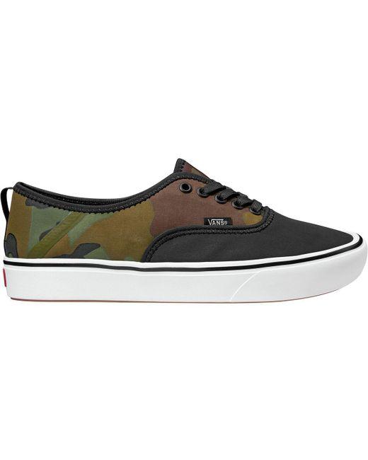 e271e809d5 Lyst - Vans Comfycush Authentic Sf Shoe in Black for Men