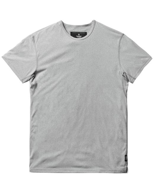 Reigning Champ   Gray Powerdry Crewneck T-shirt for Men   Lyst