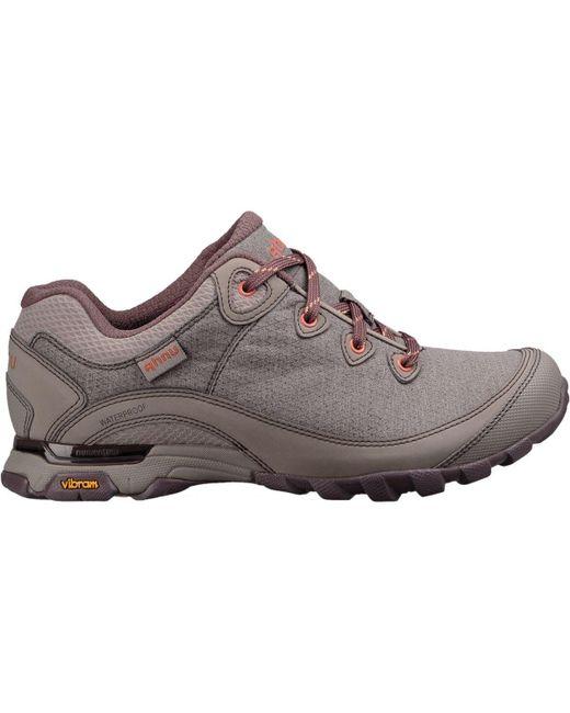 Ahnu - Brown Sugarpine Ii Wp Hiking Shoe - Lyst
