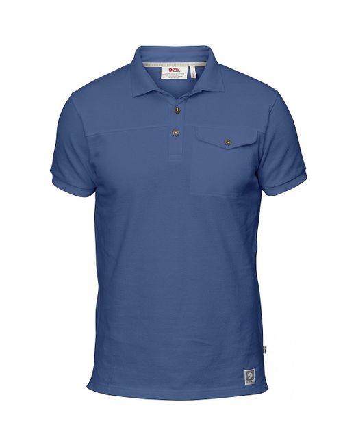 Fjallraven - Blue Greenland Polo Shirt for Men - Lyst