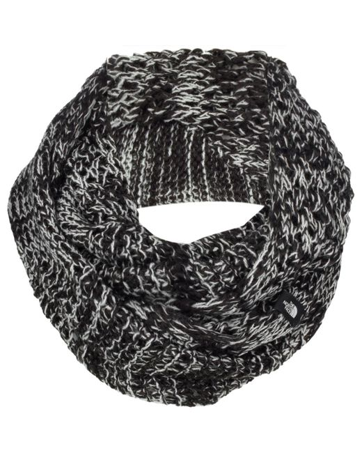 The North Face - Gray Knitting Club Scarf - Lyst