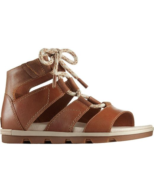 Sorel - Brown Torpeda Lace Ii Sandal - Lyst
