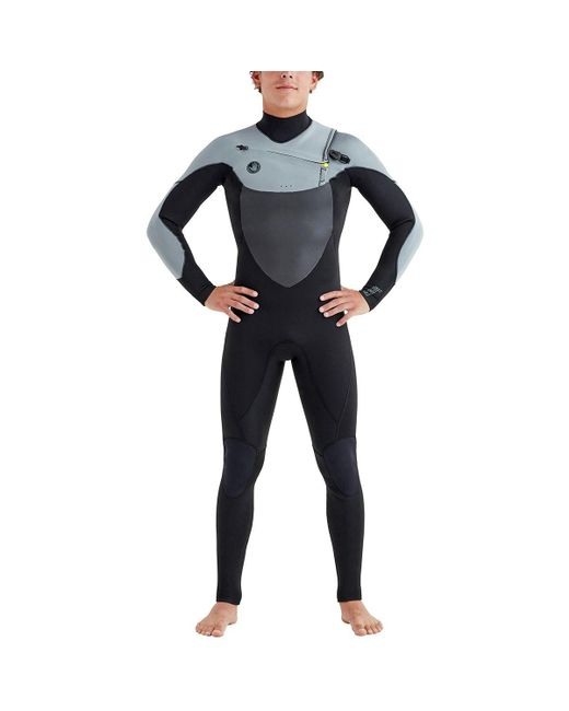 Body Glove Black Phoenix Slant Zip 3/2mm Full Wetsuit for men