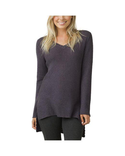 Prana - Multicolor Deedra Sweater Tunic - Lyst