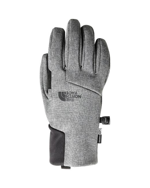 The North Face - Gray Apex Etip Glove - Lyst
