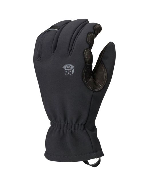 Mountain Hardwear - Torsion Insulated Glove (black) Extreme Cold Weather Gloves for Men - Lyst