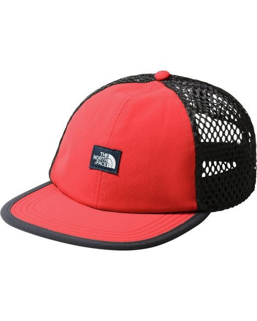 7bf0d28104d Lyst - The North Face Class V Trucker Hat in Red for Men