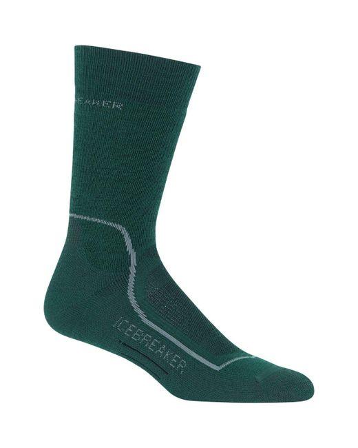 Icebreaker - Green Hike+ Mid Anatomical Crew Sock for Men - Lyst