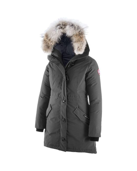 Canada Goose - Gray Rossclair Down Parka - Lyst