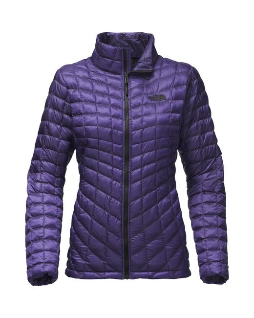 The North Face - Blue Thermoball Insulated Jacket - Lyst