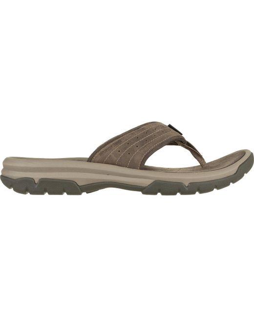 Teva Brown Langdon Flip Flop for men