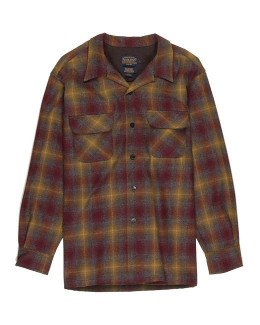 Pendleton | Brown Classic Board Shirt for Men | Lyst