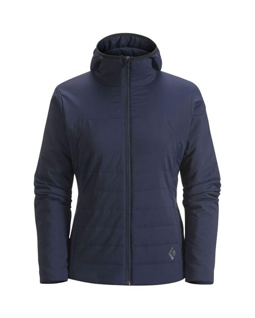 Lyst Black Diamond First Light Hooded Insulated Jacket