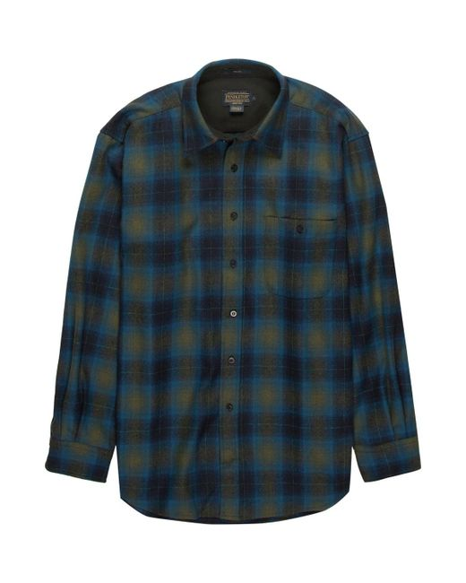 Pendleton   Blue Trail Shirt for Men   Lyst